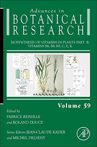 9780123858535: Biosynthesis of Vitamins in Plants Part B, Volume 59: Vitamins B6, B8, B9, C, E, K (Advances in Botanical Research)