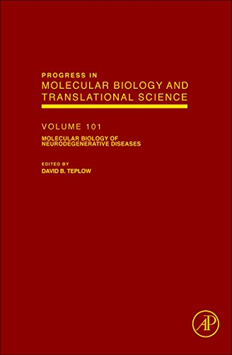 9780123858832: Molecular Biology of Neurodegenerative Diseases, Volume 107 (Progress in Nucleic Acid Reasearch)