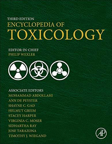 9780123864543: Encyclopedia of Toxicology, Third Edition