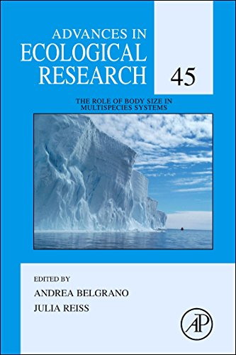 9780123864758: The Role of Body Size in Multispecies Systems, Volume 45 (Advances in Ecological Research)