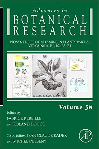 9780123864796: Biosynthesis of Vitamins in Plants Part A, Volume 58: Vitamins A, B1, B2, B3, B5 (Advances in Botanical Research)