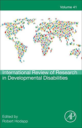 9780123864956: International Review of Research in Developmental Disabilities, Volume 41