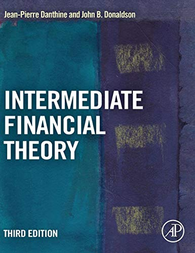9780123865496: Intermediate Financial Theory (Academic Press Advanced Finance)