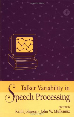 9780123865601: Talker Variability in Speech Processing