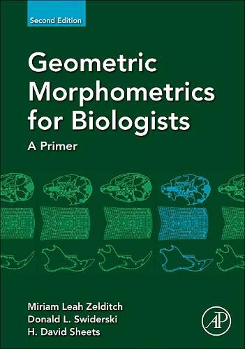 9780123869036: Geometric Morphometrics for Biologists, Second Edition: A Primer