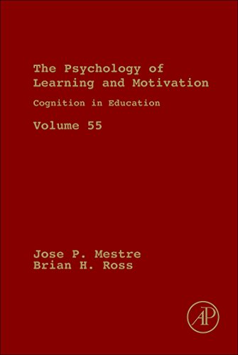 9780123876911: Cognition in Education, Volume 55 (Psychology of Learning & Motivation)