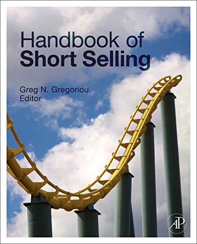 9780123877246: Handbook of Short Selling