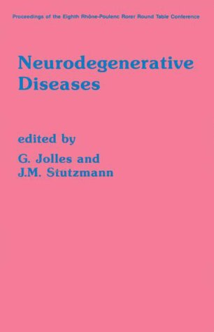 9780123881854: Neurodegenerative Diseases: 8th International Round Table : Papers (Rhone-Poulenc Rorer Round Table Conferences)