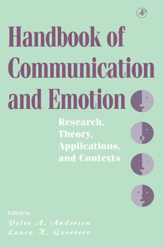 9780123885401: Handbook of Communication and Emotion: Research, Theory, Applications, and Contexts