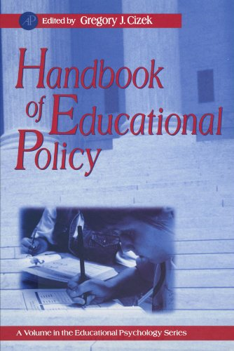 9780123885722: Handbook of Educational Policy