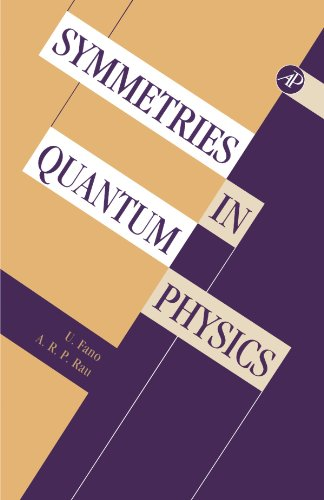 9780123885975: Symmetries in Quantum Physics
