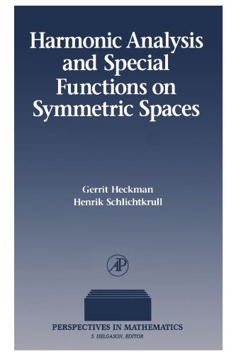 9780123886224: Harmonic Analysis and Special Functions on Symmetric Spaces