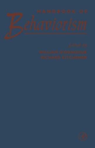 9780123887108: Handbook of Behaviorism