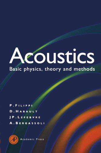 9780123909268: Acoustics: Basic Physics, Theory, and Methods