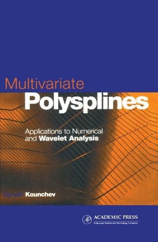 9780123909350: Multivariate Polysplines: Applications to Numerical and Wavelet Analysis