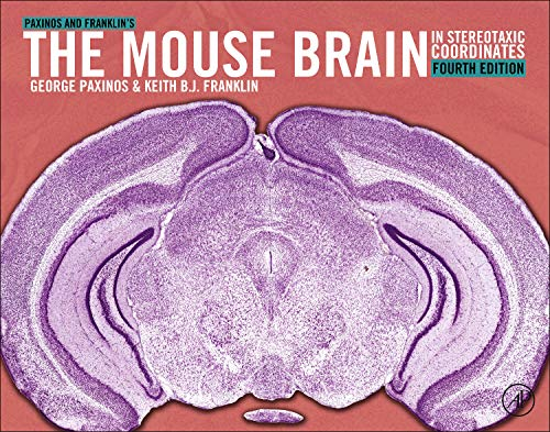 9780123910578: Paxinos and Franklin's the Mouse Brain in Stereotaxic Coordinates