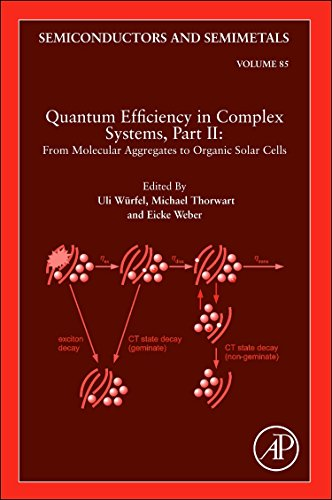 9780123910608: Quantum Efficiency in Complex Systems, Part II: From Molecular Aggregates to Organic Solar Cells: Organic Solar Cells (Semiconductors and Semi-Metals)