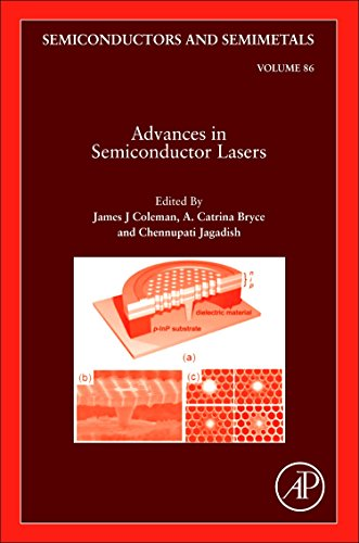 9780123910660: Advances in Semiconductor Lasers, Volume 86 (Semiconductors and Semi-Metals)