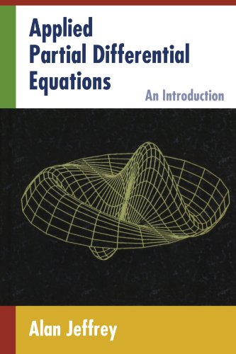 9780123910882: Applied Partial Differential Equations: An Introduction
