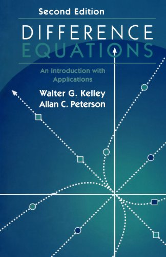 9780123910929: Difference Equations: An Introduction with Applications