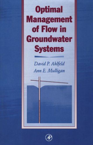 9780123910936: Optimal Management of Flow in Groundwater Systems: An Introduction to Combining Simulation Models and Optimization Methods