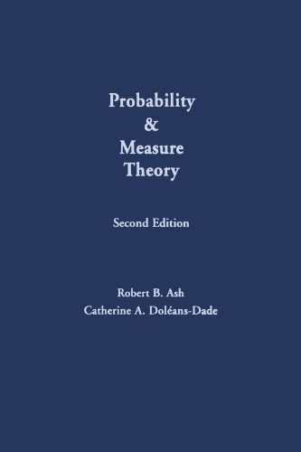 9780123910950: Probability & Measure Theory