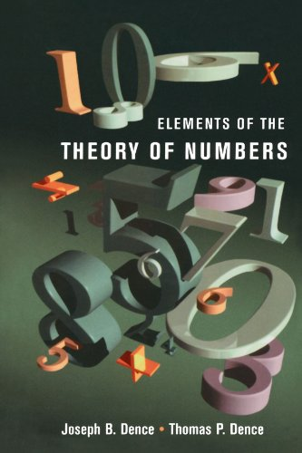 9780123910974: Elements of the Theory of Numbers