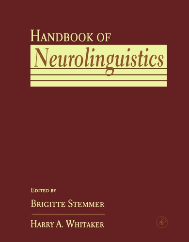 9780123911858: Handbook of Neurolinguistics