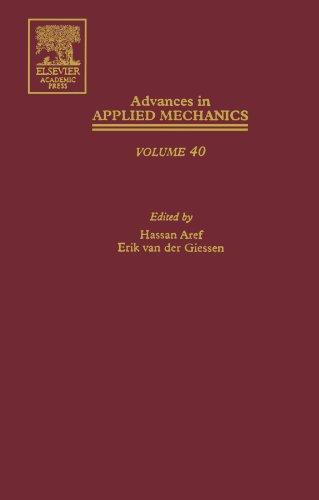 9780123916808: Advances in Applied Mechanics
