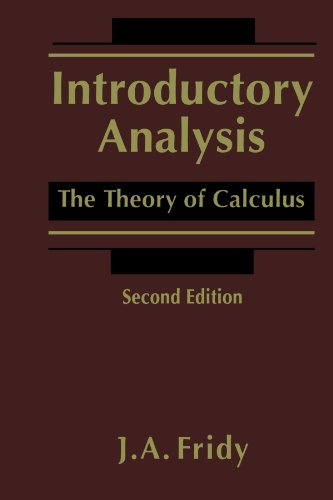 9780123918086: Introductory Analysis: The Theory of Calculus
