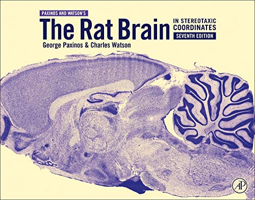 9780123919496: The Rat Brain in Stereotaxic Coordinates, Seventh Edition