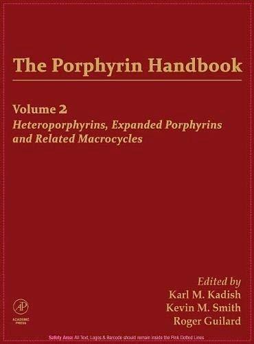 9780123932020: The Porphyrin Handbook Volume 2 (Porphyrin Handbook S)