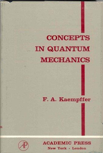 9780123941503: Concepts in Quantum Mechanics
