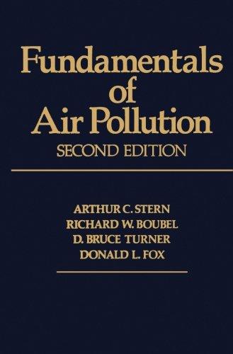 9780123941664: Fundamentals of Air Pollution 2e