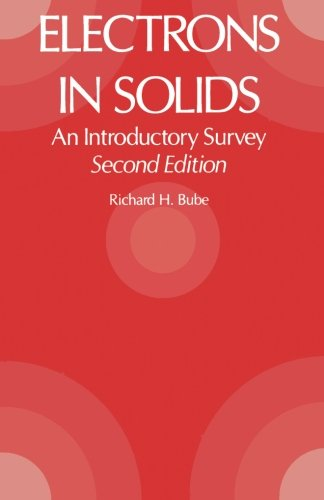 9780123941978: Electrons in Solids: An Introductory Survey