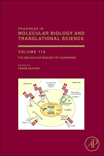 9780123943118: The Molecular Biology of Cadherins, Volume 116 (Progress in Molecular Biology and Translational Science)