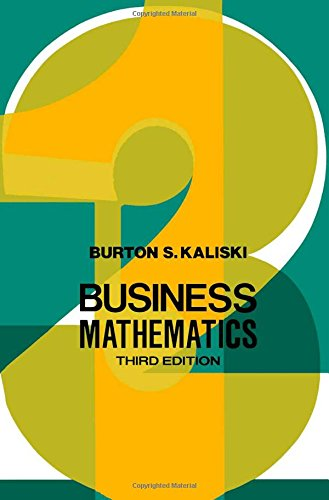 9780123947604: Business Mathematics