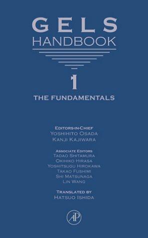 GELS HANDBOOKS. Volumes 1-4.: Osada, Yoshihito, and Kanji Kayiwara (editors-in-chief).