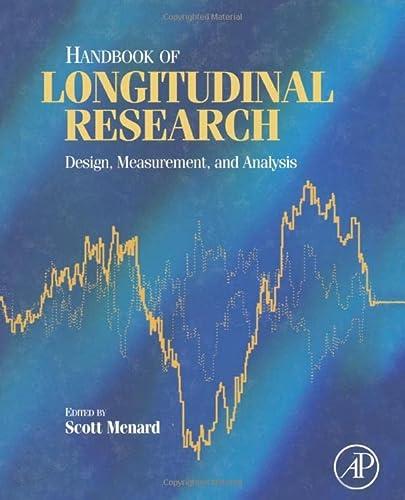 9780123954800: Handbook of Longitudinal Research: Design, Measurement, and Analysis