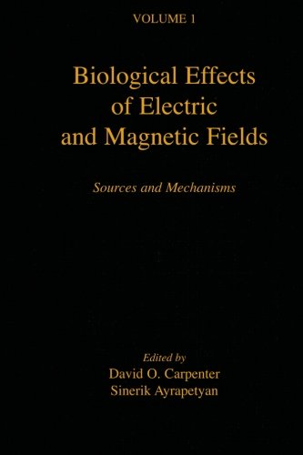 9780123957795: Biological Effects Of Electric And Magnetic Fields: Sources And Mechanisms (V1) (Volume 1)