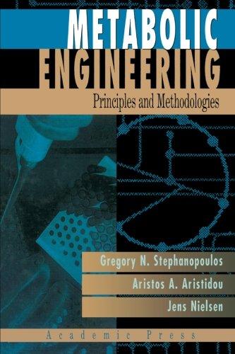 9780123958310: Metabolic Engineering: Principles And Methodologies
