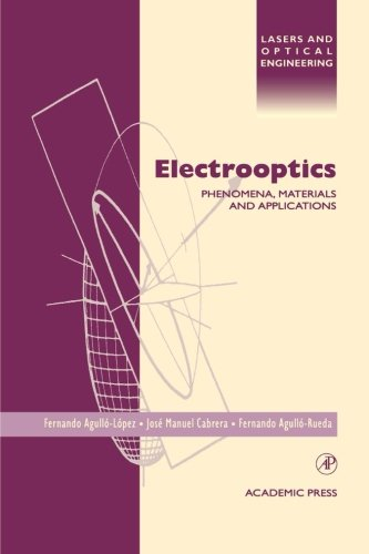 9780123958358: Electrooptics: Phenomena, Materials And Applications