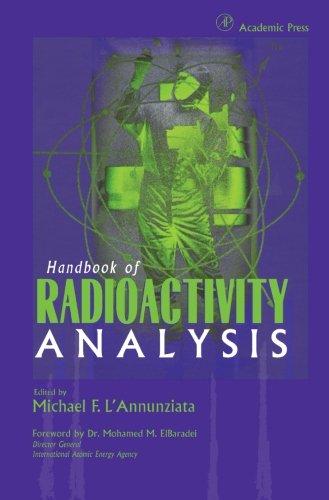 9780123958662: Handbook of Radioactivity Analysis