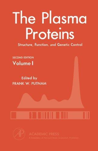 9780123958990: The Plasma Proteins V1