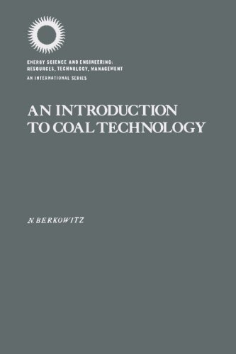 9780123959409: An Introduction to Coal Technology