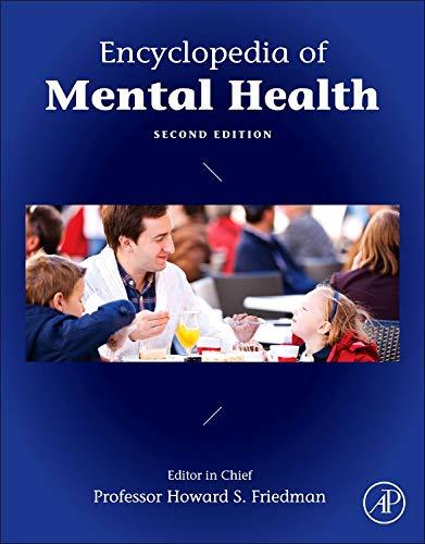 9780123970459: Encyclopedia of Mental Health
