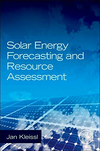 9780123971777: Solar Energy Forecasting and Resource Assessment