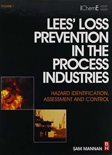 9780123972101: Lees' Loss Prevention in the Process Industries: Hazard Identification, Assessment and Control Volume 1