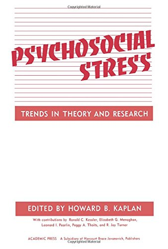 9780123975607: Psychosocial Stress: Trends in Theory and Research