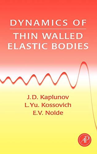 9780123975904: Dynamics of Thin Walled Elastic Bodies